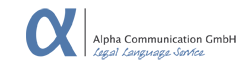 Alpha Legal Language Service